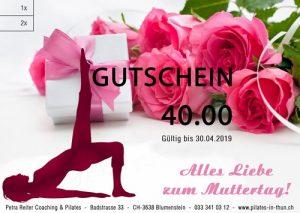 Gutschein2 300x213 Pilatesgutscheine zum Muttertag