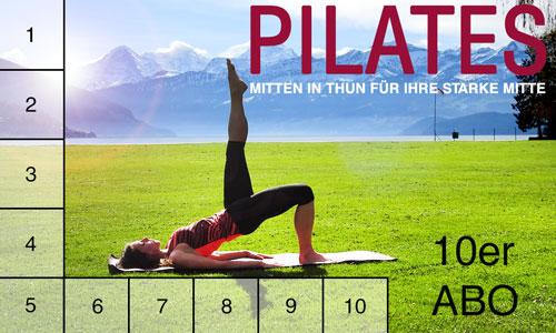 Summer 10 Pilates im Strandbad Thun 2019