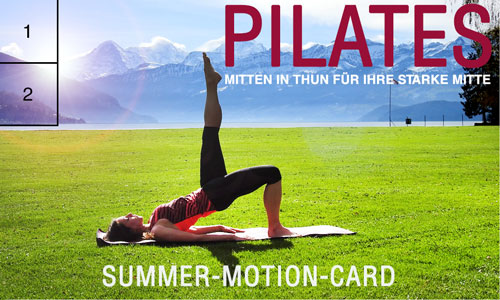 Summer Motion Pilates im Strandbad Thun 2019
