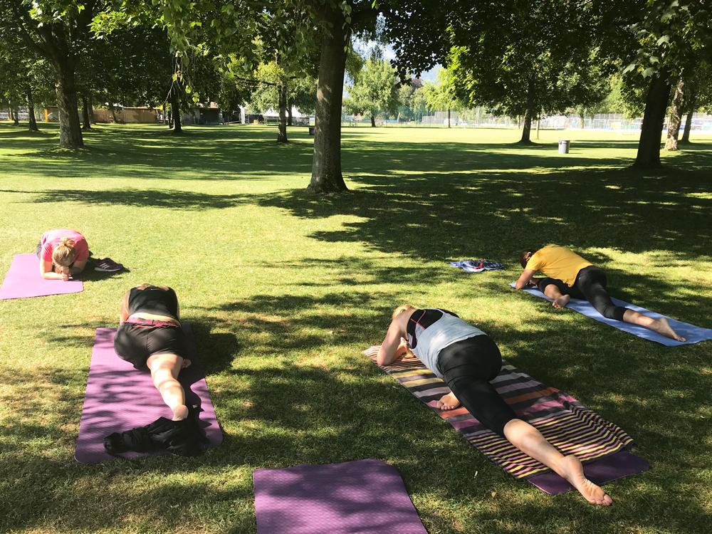 IMG 2009 Pilates im Strandbad Thun 2019