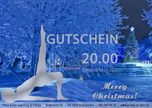 Gutschein Blau 300x213 Pilates Gutscheine