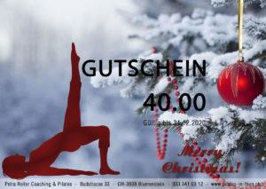 Gutschein Rot 300x213 Pilates Gutscheine