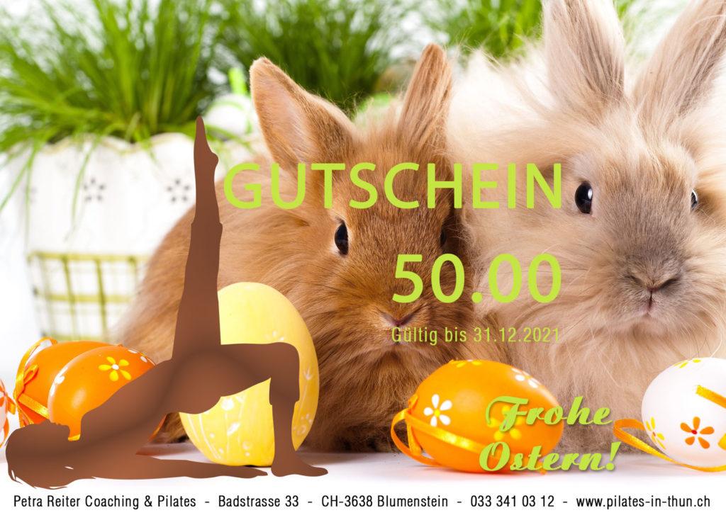 Gutschein Ostern 2 1024x727 Neues bei Petra Reiter Coaching & Pilates