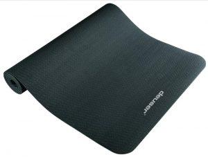 deuser yogamatte 300x227 Deuser Yogamatte 6mm schwarz/grau